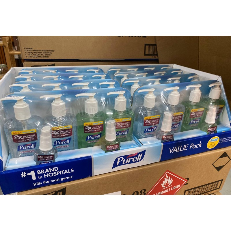 PURELL ADVANCED HAND SANITIZER  免沖洗消毒洗手液 (家庭套裝)